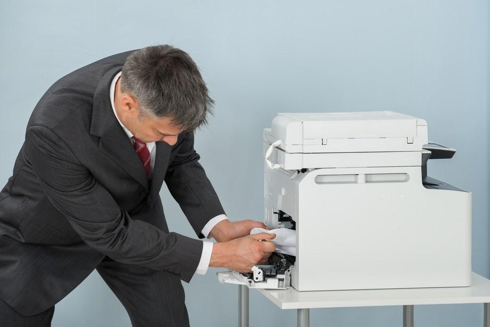 Carta inceppata nella stampante come risolvere