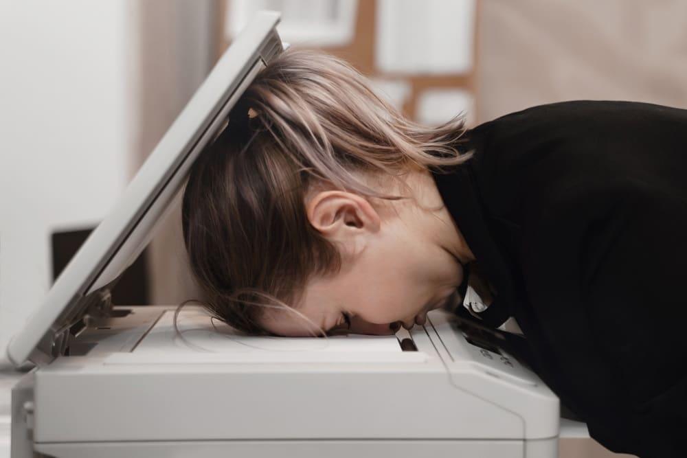 La stampante non stampa come puoi intervenire